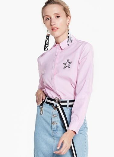 Yıldız Desenli Gömlek-Twist